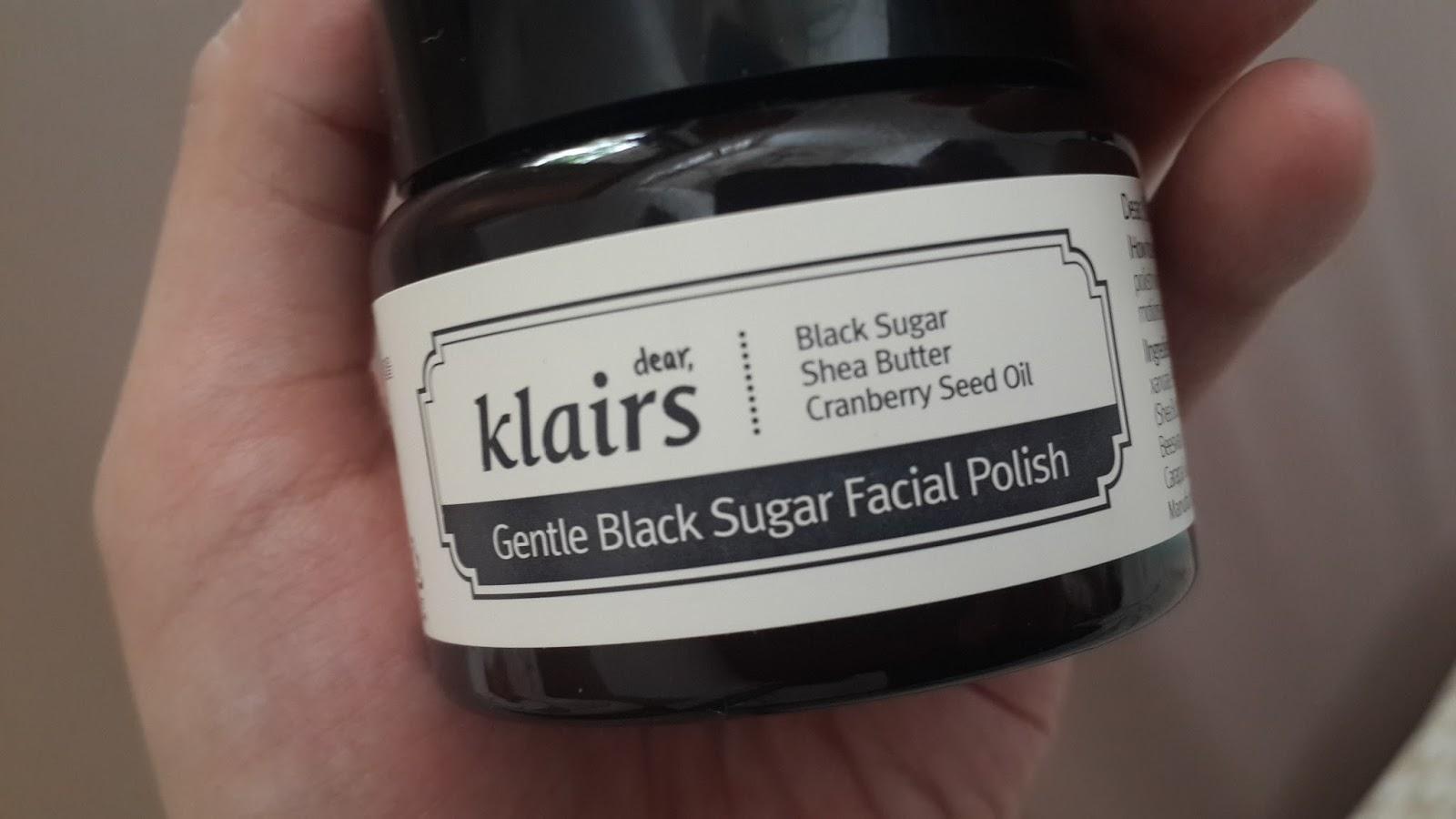Gentle Black Sugar Facial Polish by Klairs #5