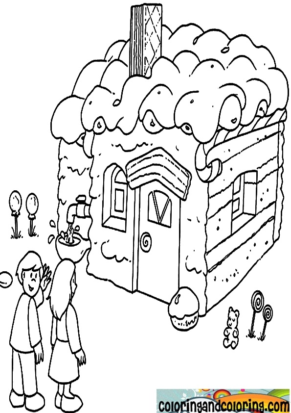 hansel and gretel coloring pages coloring pages