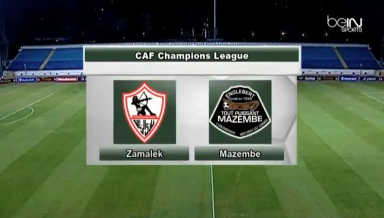 مشاهدة مباراة الزمالك ضد مازيمبي بث مباشر 30 11 2019 بدون