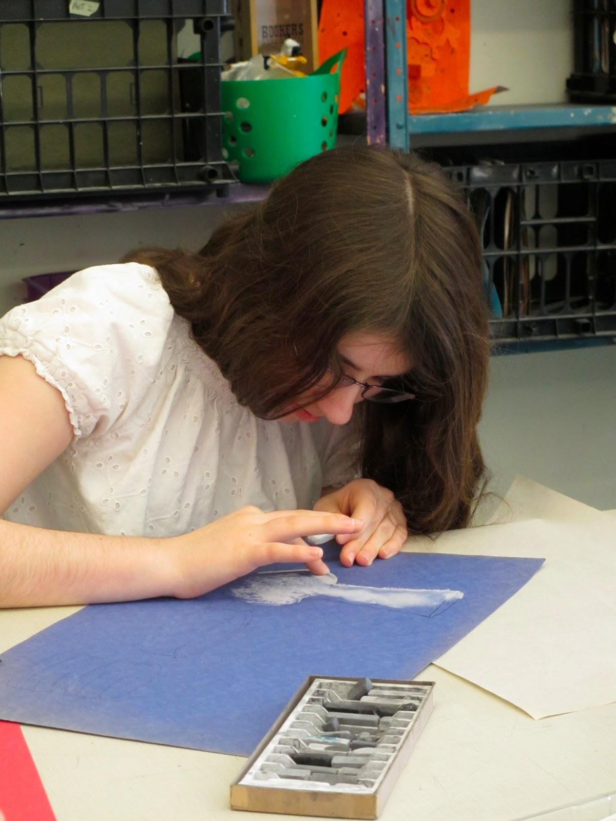 Parker Art Middle School Still Life Drawing