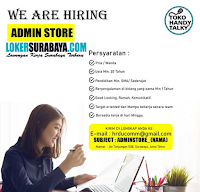 Karir Surabaya Terbaru di Toko Handy Talky Juli 2020