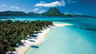 Día soleado en la Polinesia