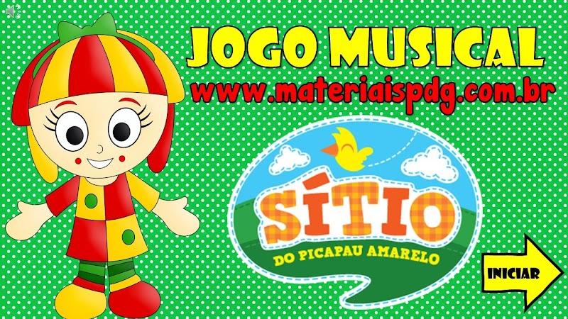 JOGO MUSICAL ONLINE - TURMA DO SÍTIO