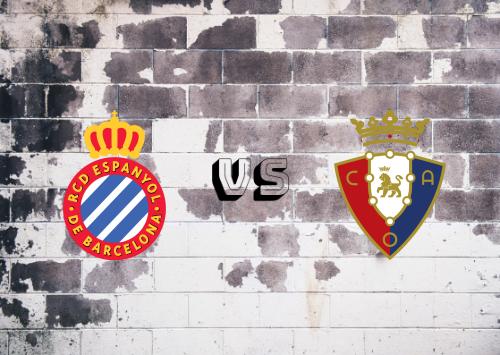 Espanyol vs Osasuna  Resumen