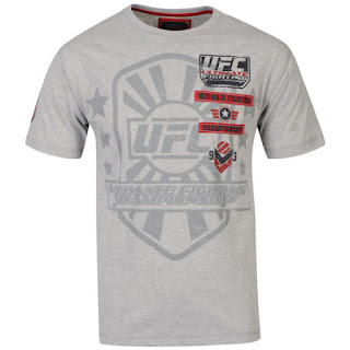UFC Men's Sponsor T-Shirt - Grey