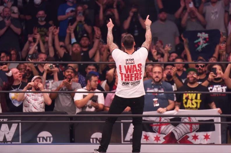 """CM Punk sobre estreia no AEW Rampage: """"Pode ter sido a melhor noite da minha carreira"""""""
