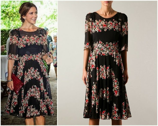 Crown Princess Mary in Dolce & Gabbana