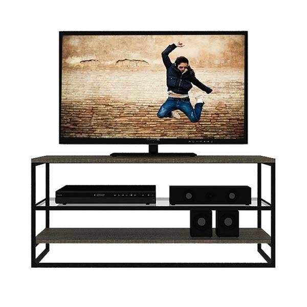 GRUFF Kệ TV 100x33.4x45 cm Màu Gỗ Sồi Carmelo