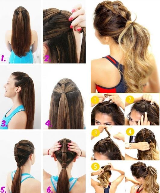 Peinados Faciles Con Coleta - 17 peinados fáciles y rápidos para las que no Artistas de la red