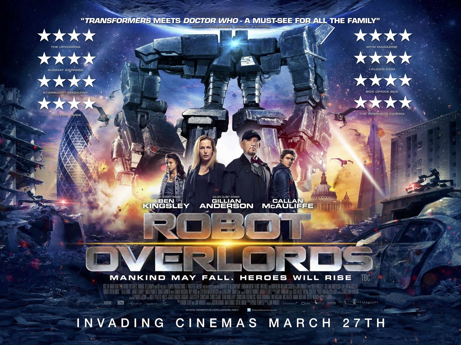 Đế Chế Robot - Robot Overlords (2015)