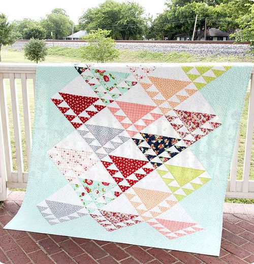 Lady of the Lake Quilt - Free Pattern