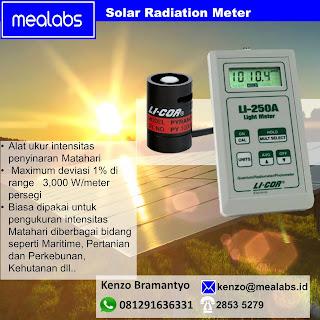 Alat Ukur Intensitas Cahaya Matahari (Solar Radiation Meter)