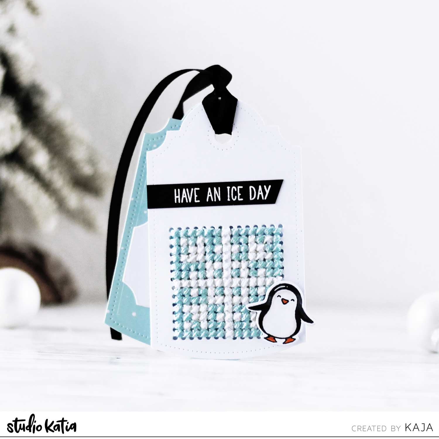 25 days of Christmas tags with Studio Katia