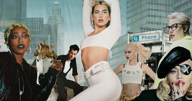 Dua Lipa non si ferma, avverte su Twitter l'album di remix con Madonna e Gwen Stefani