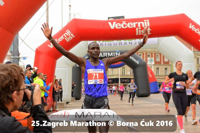 25. Zagreb Marathon @ pobkednik Wycliff Biwot