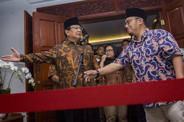 Prabowo Resmi Tunjuk Dahnil Jadi Jubir