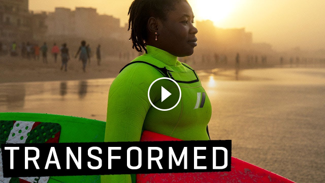 How Women in Surfing are CHANGING THE WORLD Khadjou Sambe Transformed