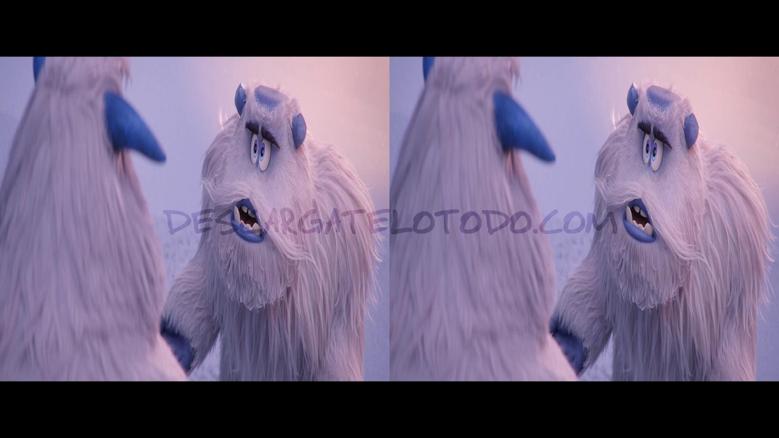 Pie Pequeño (2018) 3D SBS Full HD 1080p Latino-Ingles captura 1