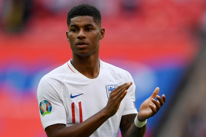 'I'll never apologise for who I am': Rashford's message to racists as fans cover defaced mural of him with notes of support
