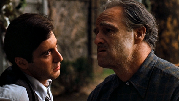 Al Pacino, Marlon Brando The Godfather