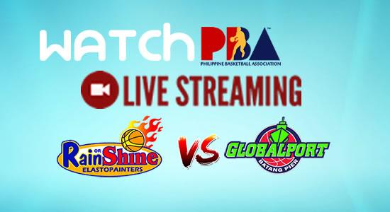 Livestream List: Rain or Shine vs GlobalPort game live streaming January 12, 2018 PBA Philippine Cup