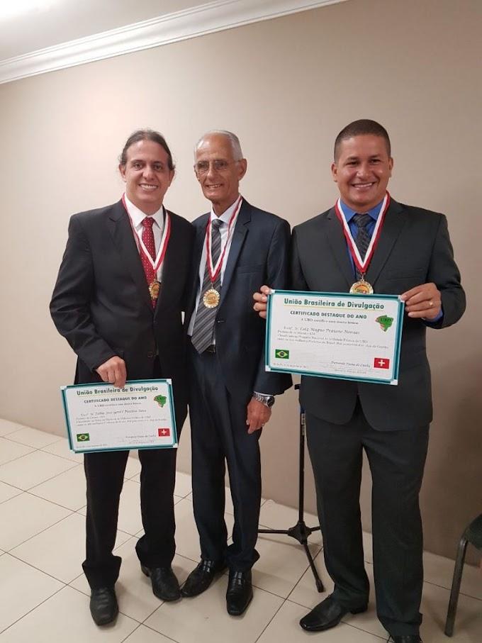 Prefeito Fábio Gentil recebe premiação em Recife da União Brasileira de Divulgação por estar entre os 100 melhores prefeitos do Brasil