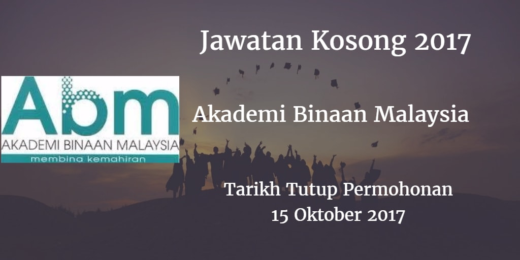 Jawatan Kosong ABM 15 Oktober 2017
