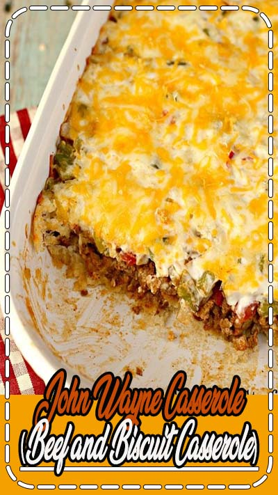 I am all about large, hearty casseroles and this one doesn't disappoint! Perfect to feed your hungry family on a busy weeknight.