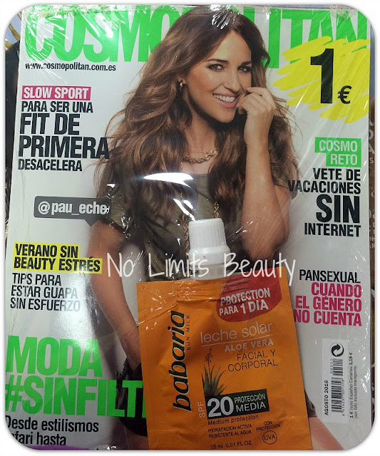 Regalos revistas agosto 2016: Cosmopolitan Pocket