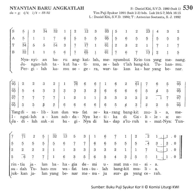 Chord N Lirik Republik: Lirik Dan Chord Lagu Nyanyian Baru Angkatlah