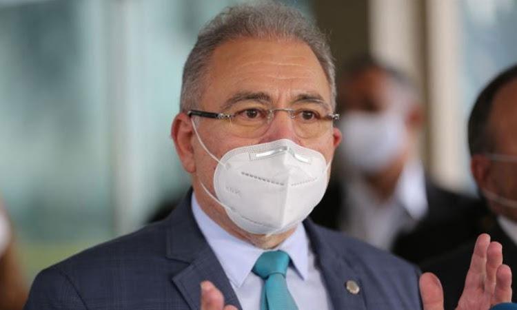 Ministro Marcelo Queiroga anuncia aplicação de terceira dose a partir do dia 15 de setembro