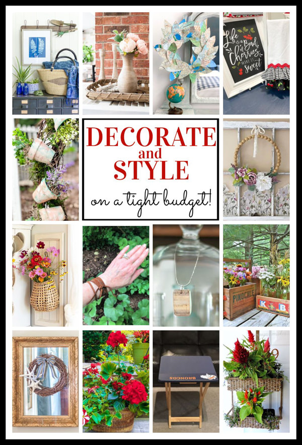 thrifty home decor and accessory projects