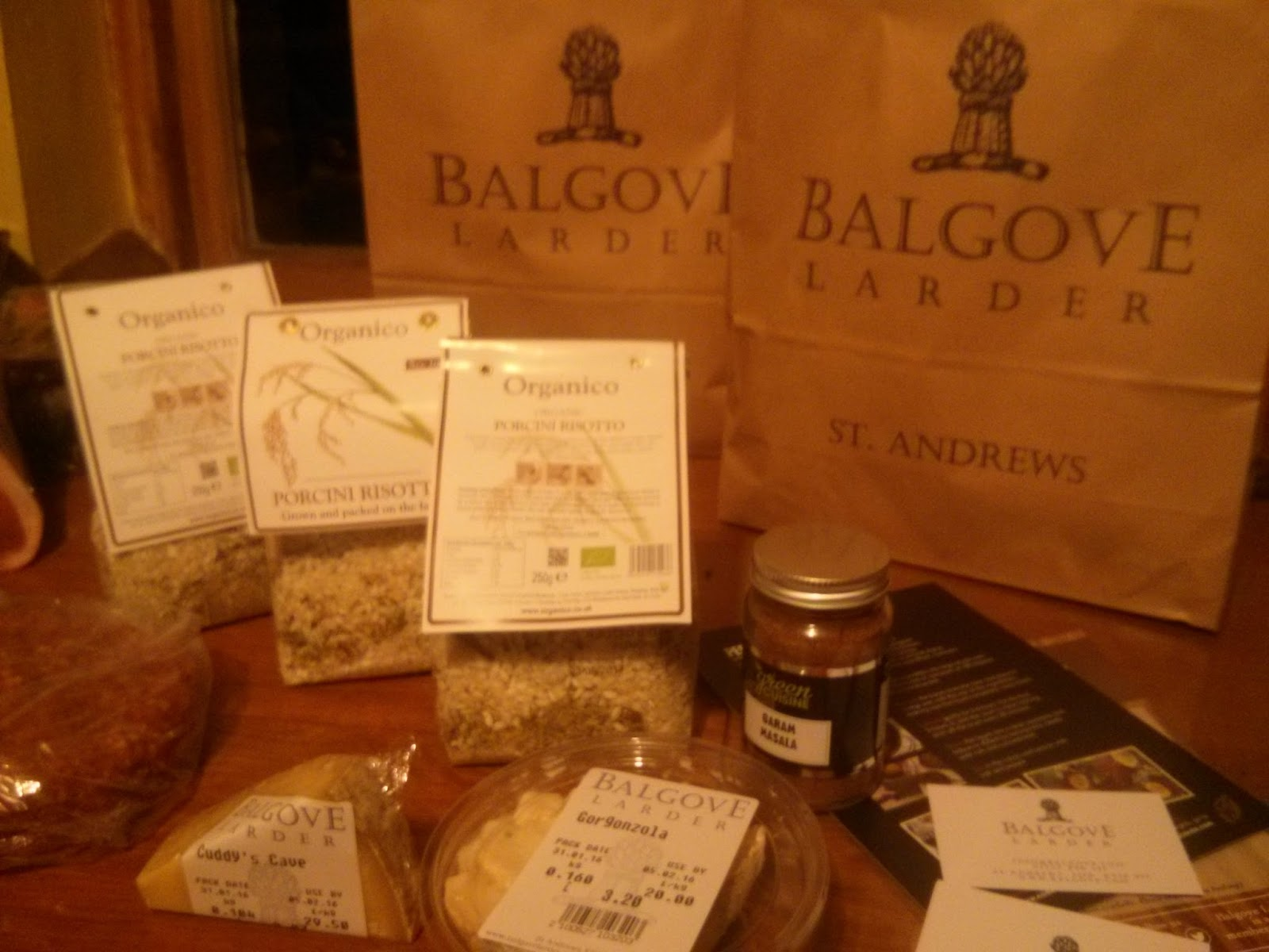 Woodland Holiday Cottage near Edinburgh: Balgove Larder ...