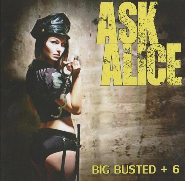 Sexy policewoman album cover