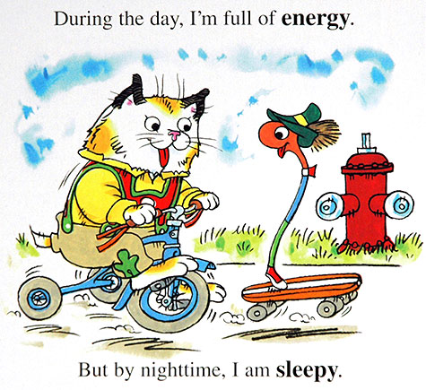 Aw, now I'm thinking about him being in a Richard Scarry book <3