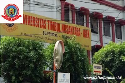 Daftar Fakultas dan Program Studi UTIRA Universitas Timbul Nusantara IBEK
