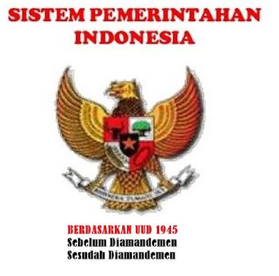 Sistem pemerintahan Indonesia berdasarkan UUD 1945 sebelum dan sesudah diamandemen - berbagaireviews.com