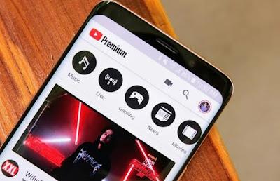 YouTube telefono