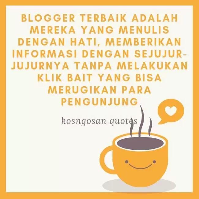 kata bijak blogger