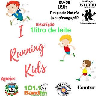 II Running 5 km Fit também terá espaço para a criançada