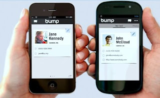 Google has recently acquired Bump, which is a smartphone app that helps to share files between tow devices.