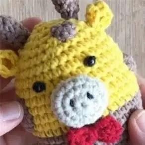 Amigurumi Jirafa a Crochet