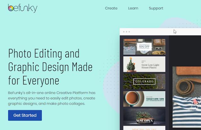 web based online photo editor