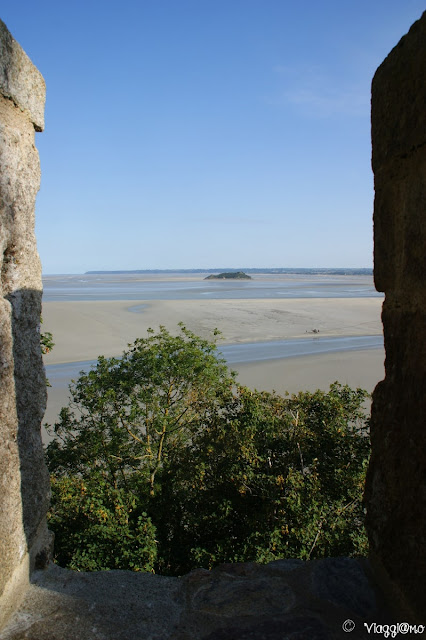 Panorama sulla baia dal Chemin de Remparts
