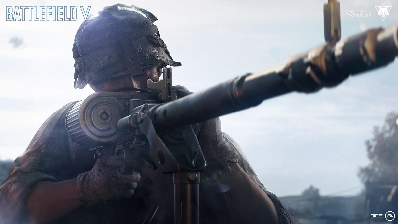 Próxima atualização do Battlefield V recebe certificação e será liberada terça-feira