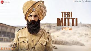 TERI MITTI (तेरी मिट्टी में मिल जावाँ Lyrics in Hindi) - B Praak   Akshay Kumar