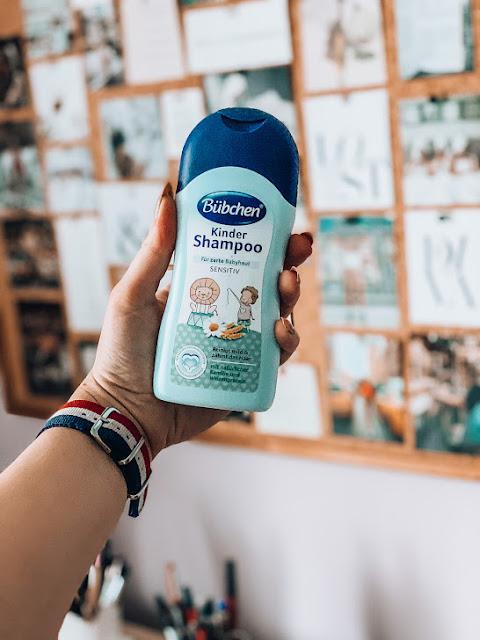 detský šampón značky bubchen