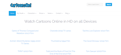 Top Five Free Websites to Watch Cartoons Online