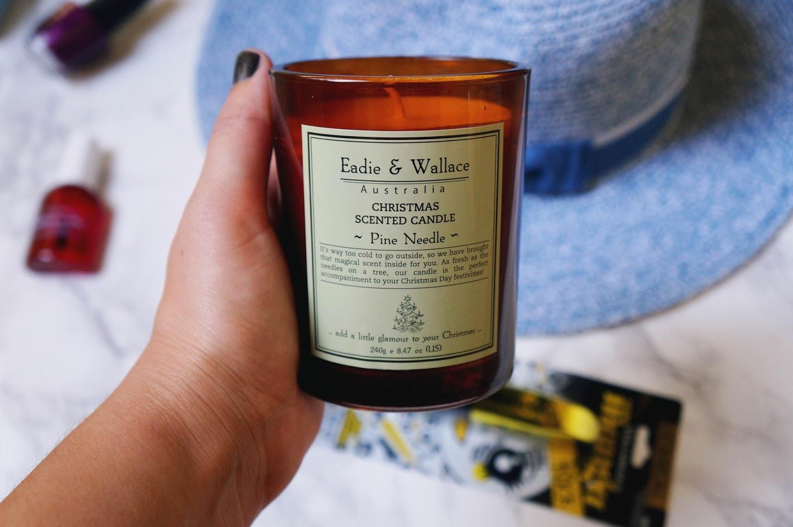 pine needle candle