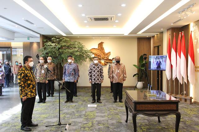 Menko Perekonomian RI Lantik Enoh Suharto Pranoto Sebagai Anggota Bidang Kebijakan Strategis BP Batam